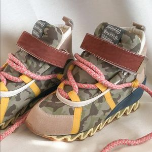 Bernhard Willhelm x Camper Sneaker Boots